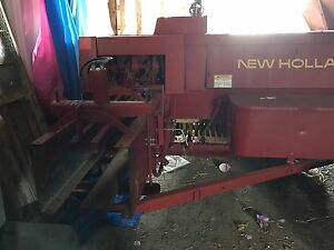 575 new holland square baler