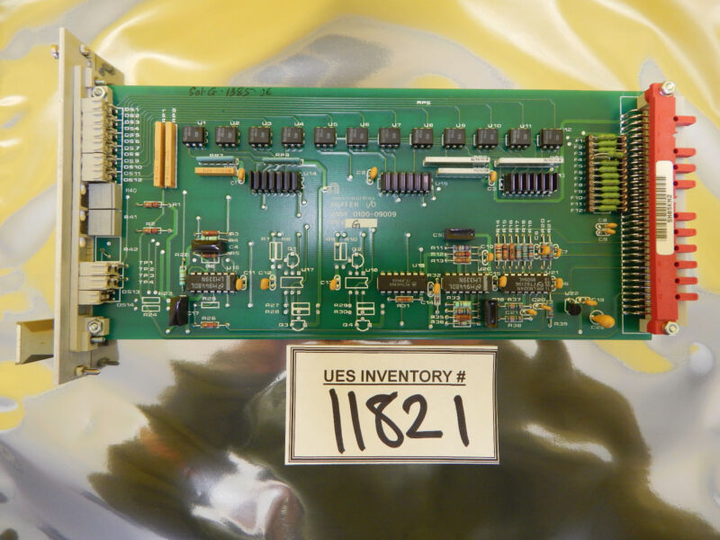 Amat Applied Materials 0100-09009 Buffer I/o Pcb Card Rev. G Precision 5000 Used