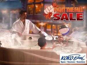 The world's only Infinity Edge Hot Tub! FIGHT THE FALL SALE!