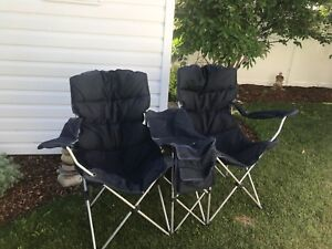 Deluxe camping/ outdoor double chair