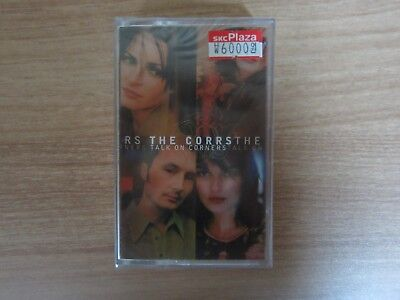 THE CORRS - TALK ON CORNERS Korea Edition New Cassette Tape