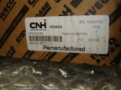 47565934r Controller Case Ih New Holland