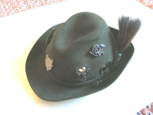 German Tyrol  Hat  Size 6 7/8