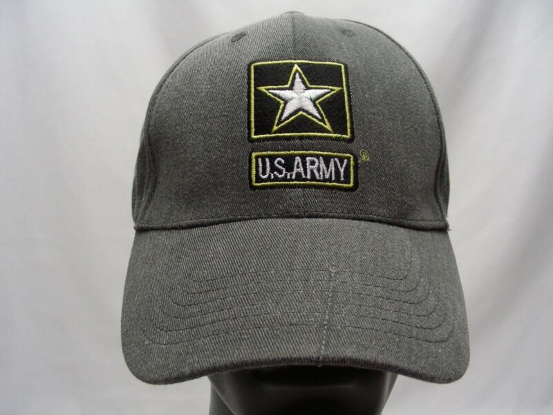 US ARMY- EMBROIDERED - ADJUSTABLE BALL CAP HAT!