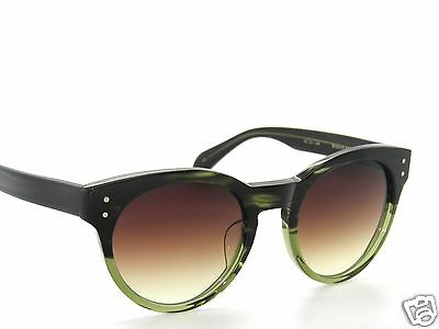 "OLIVER PEOPLES""MAISON KITSUNE""Exclusive""PARIS""MLT MILITARY /BROWN Sunglasses"