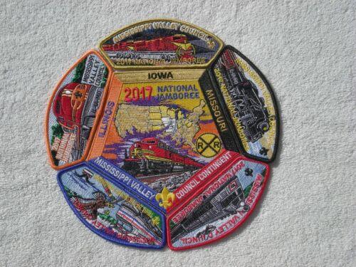 2017 Mississippi Valley Council Jamboree Patch Set..Celebrate the 2019 Jamboree!