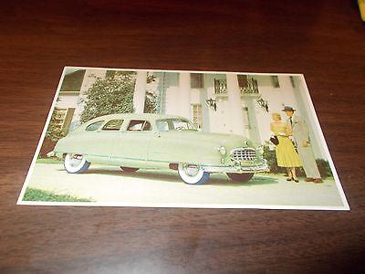 1950 Nash Advertising Postcard (N2)