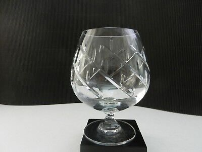 Towle Crystal Infatuation Brandy Snifter Clear Cut 5 1/4