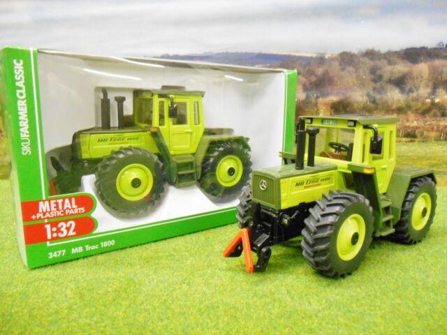SIKU FARM CLASSIC MERCEDES MB TRAC 1800 TRACTOR 1/32 3477 *BOXED & NEW*