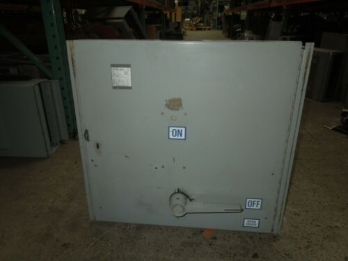 Westinghouse Fdp Unit Fdps367b 800a 3p 600v Fusible Panelboard Switch Used