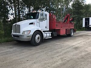 2009 KENWORTH T300 Automatic heavy spec picker