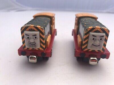 Iron Bert & 'Arry 2pc Set Thomas Train & Friends Wooden Railway Sodor Ironworks