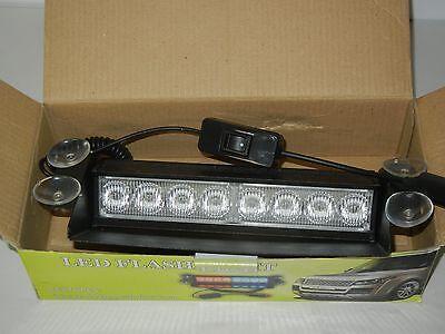 XKTTSUEERCRR LED FLASH LIGHT 8 LED GREEN LAMP BAR STROBE EMERGENCY