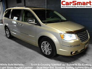 2010 Chrysler Town & Country Limited, Swivel N' Go Seating, Dual
