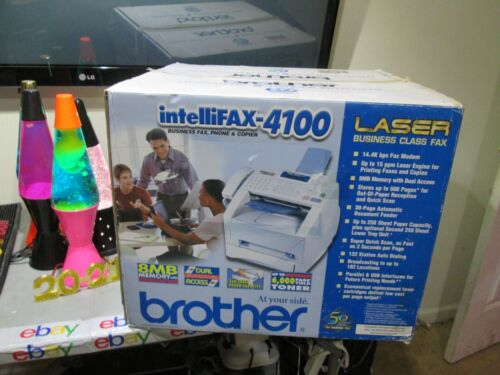 Beautiful Brother Intellifax 4100 Laser Business Fax & Printer FREESHIP