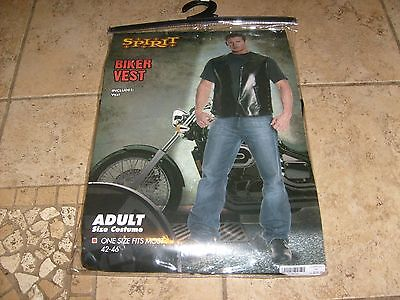 BAD @SS BIKER VEST HALLOWEEN COSTUME COSPLAY SONS ONE SIZE Fits Most - Bad Halloween Costumes