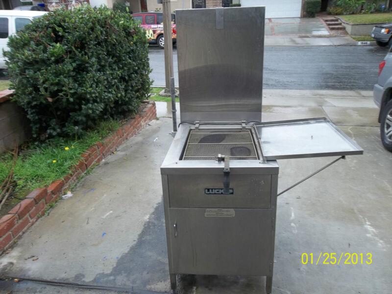 Lucks Donut Fryer,Glazing Table,Warming table and Exhaust Hood System