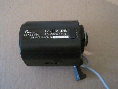 Rainbow Tv Zoom Lens L6x6.5mea  6.5 39mm 110 Lot Aa393