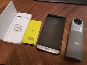 LG G5, Charger/Case, 360 Camera