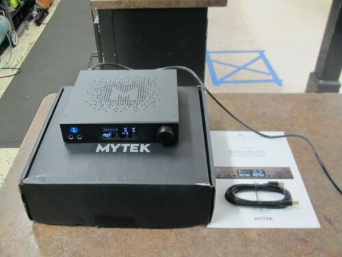 Mytek Brooklyn DAC w MQA Headphone Amp, Phono Black NICE