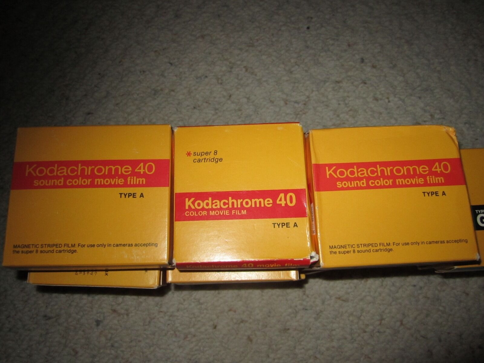 Kodak Super 8 Film Ektachrome K160-85 Boxes&Kodachrome K40-90 Boxes PRICE  PERBOX купить на eBay с доставкой в Украину ➤ OrderWorld
