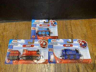 Thomas & Friends Track Master Push Along James, Belle and Thomas Set of 3 NEW