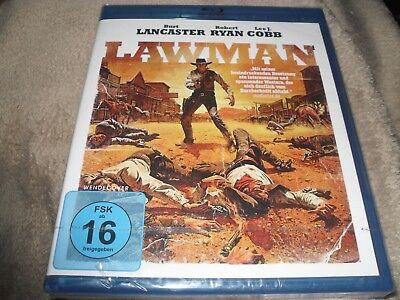 Lawman (1971) Burt Lancaster Rare German Region B (READ DETAILS!) NEW Blu-ray