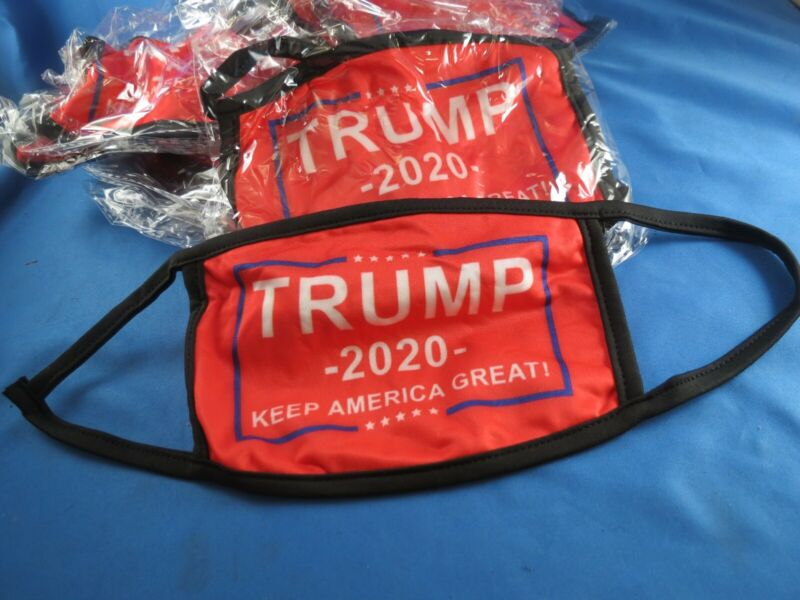 TRUMP KEEP AMERICA GREAT FACE MASKS President 2020 RED GOP Republican President