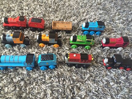 James Thomas bash dash Percy Gordon salty rheneas nelson wooden trains Wilton Wollondilly Area Preview