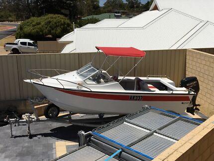 Savage Aluminium 5.02m Boat