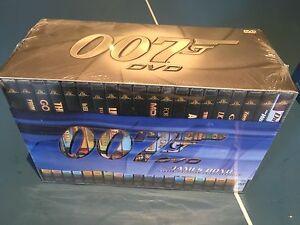 James Bond special edition 20 DVDs set Pendle Hill Parramatta Area Preview