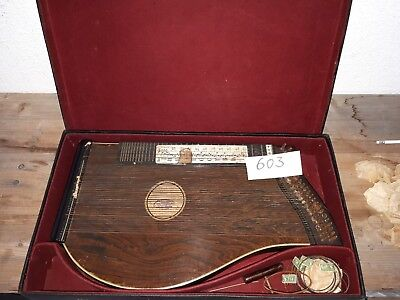 Alte Zither Weber