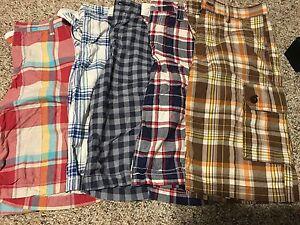 Boys size 14 shorts lot