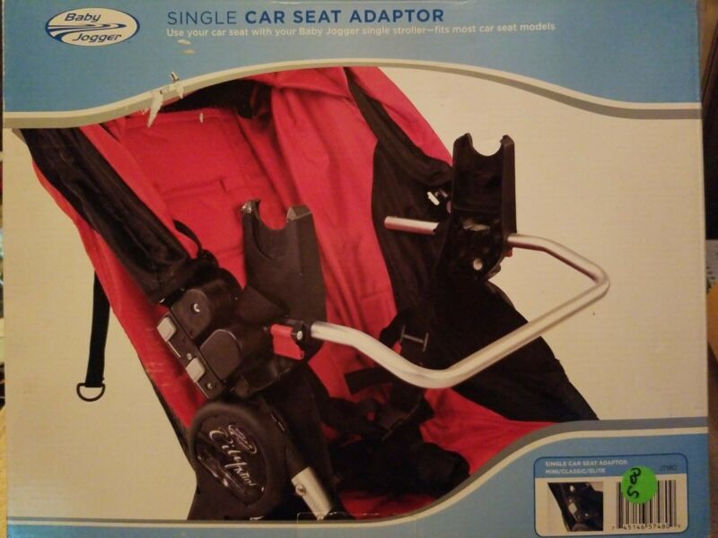 NEW BABY JOGGER SINGLE CAR SEAT ADAPTER J7180 NEW