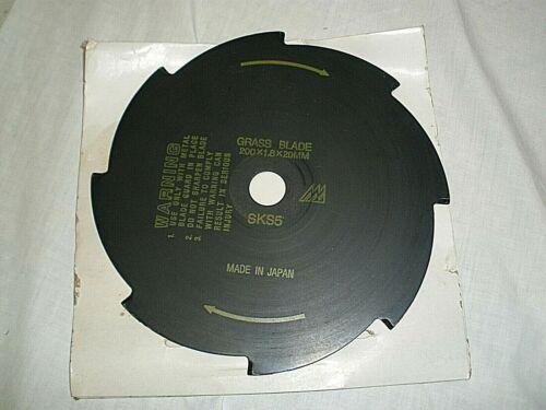 "Grass Blade P/N 216513  SK55   200 x 1.8 x 20mm   8T  8"" 1.5mm  Japan, New"