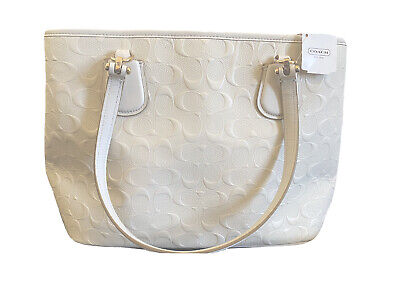 Coach White Kit Carryall Bag - NEW W/ TAGS