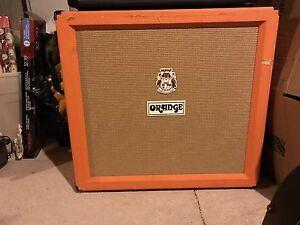 4x12 orange cab must go asap. $600
