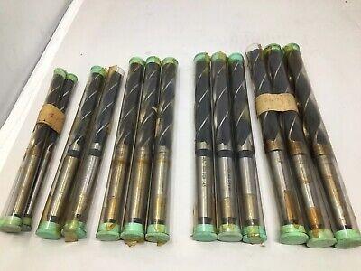 Lot Of 14 Beck Metric Morse Taper 2 Shank Mt2 2mt 1mt Core Drills 12.75-21.75
