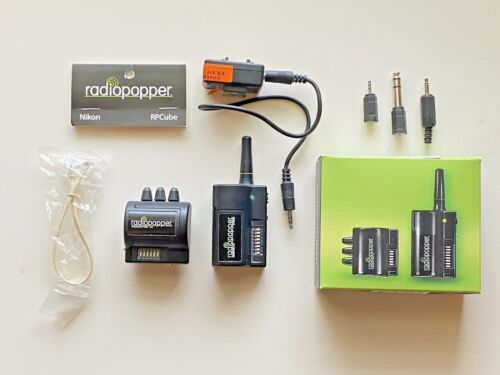 RadioPopper JrX Transmitter and Receiver Kit * Studio * With Nikon RPCube