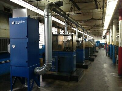 Donaldson Torit Wso25-1 Oil Mist Collector 1250 Cfm Used