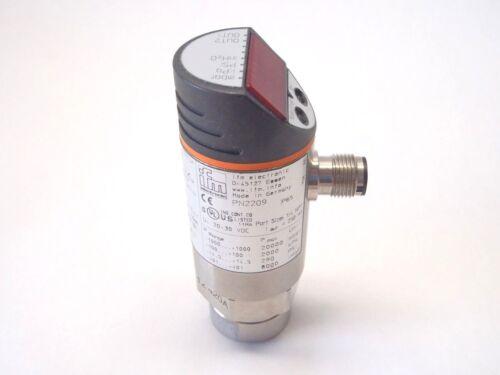 IFM Electric PN2209 IO-Link Combined Pressure Sensor