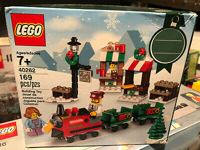 LEGO Christmas Train Ride 2017 Seasonal Set 40262 BRAND NEW SEALED 169pcs