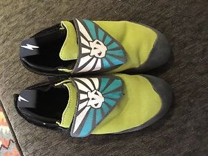 Kids size 2 climbing shoes