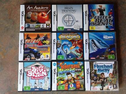 Nintendo DS Games with Instructions As New