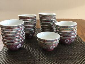 Oriental bowls