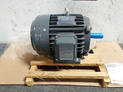 New Teco Westinghouse 3hp Electric Motor 3-phase 1755 Rpm Hazardous S40