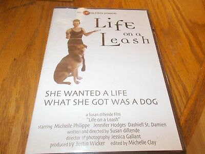 LIFE ON A LEASH-SHE WANTED A LIFE WHAT SHE GOT WAS A DOG DVD BRAND NEW SEALED