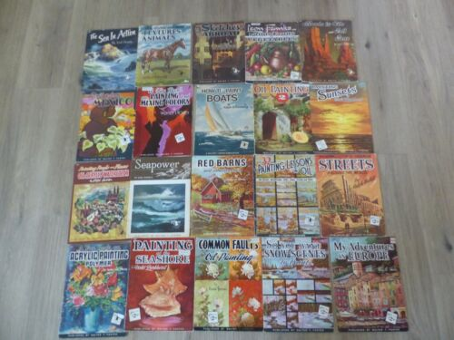 Lot of 20 Walter Walt Foster Art How To Books Drawing Painting Middle Numbers