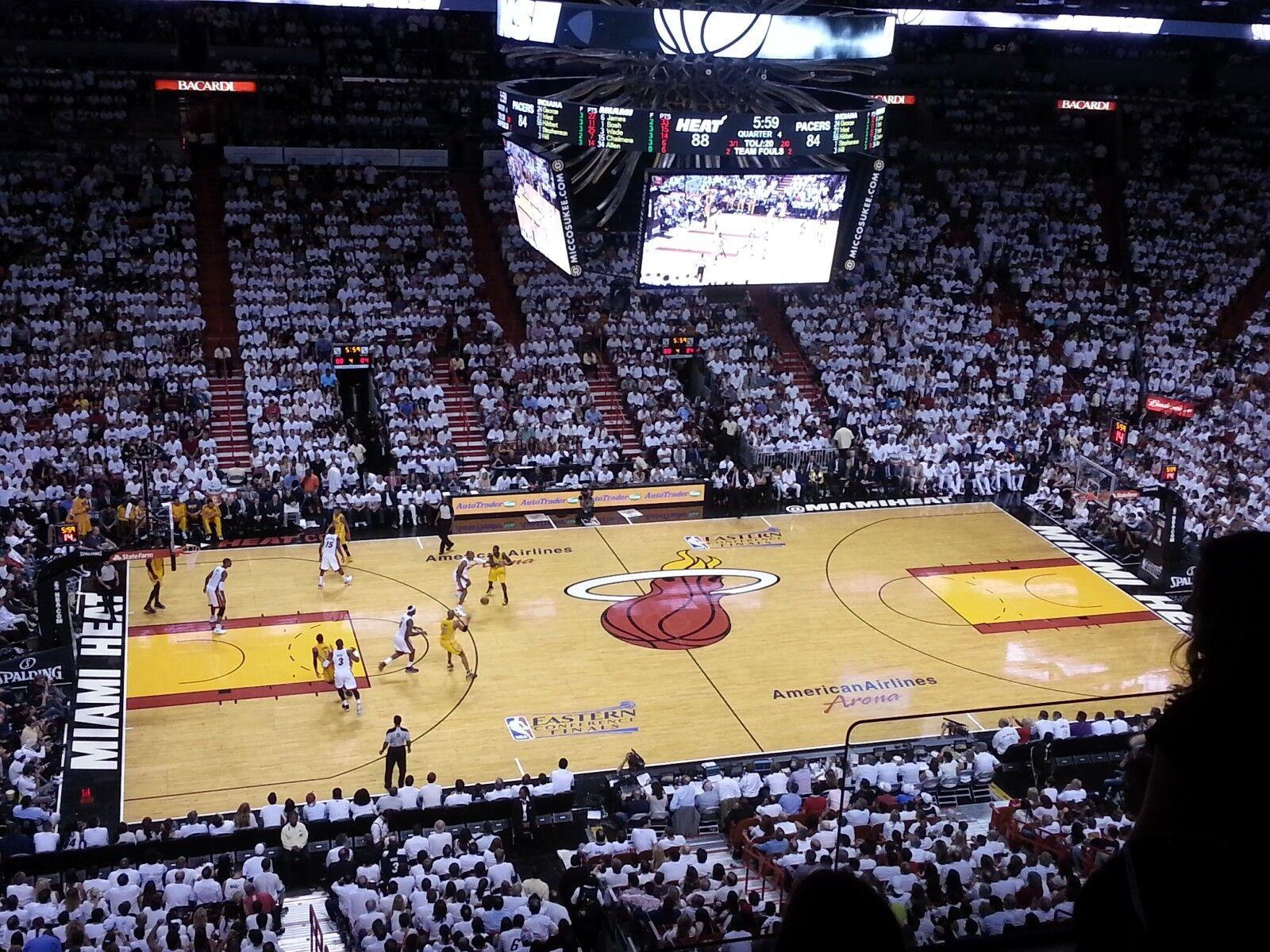 1-2 Miami Heat vs Brooklyn Nets Tickets 02/29/20 (Miami)