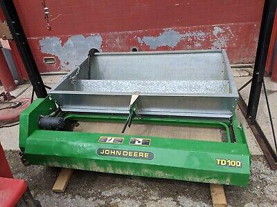John Deere Td 100 Top Dresser Drop Type Sand Spreader For John Deere Pro Gator